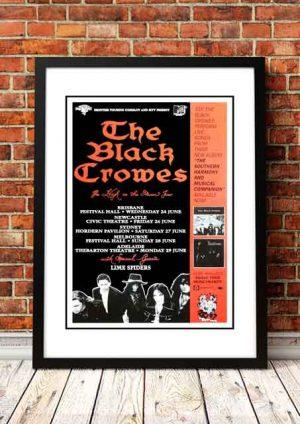 Black Crowes 'Australian Tour' 1992
