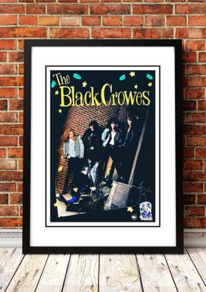Black Crowes 'In Store' Promo Poster 1992