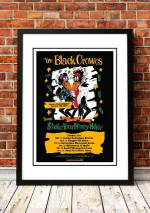 Black Crowes 'UK Tour' 2020