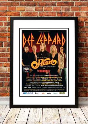 Def Leppard / Heart 'Australian Tour' 2011