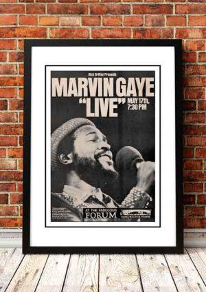 Marvin Gaye 'Forum' Manchester, USA 1974