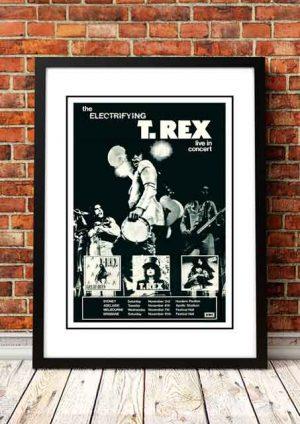 T Rex / Marc Bolan 'Australian Tour' 1973