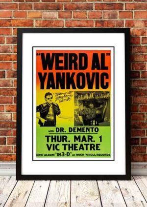 Weird Al Yankovic 'VIC Theater' Chicago, USA 1984